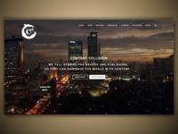 Content Collision - Website UI