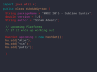 Sublime Text 3 Syntax Theme - WWDC 2016 Edition