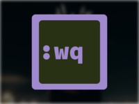 VimR/gVim Replacement Icon