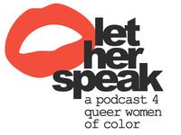 Let Her Speak Podcast Logo