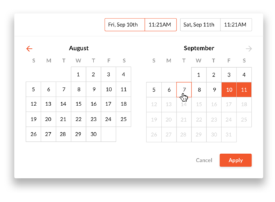 Date Picker designs, themes, templates and downloadable