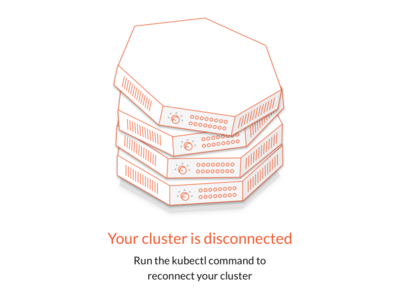 Disconnected cluster