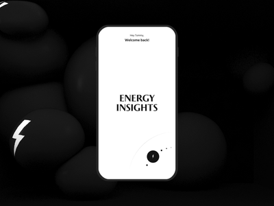 POW App mobile branding layout interactive interaction type animation 3d ui app