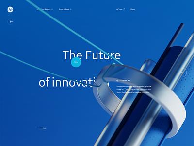 GIB20 Section branding interactivity illustration design grid type 3d ui website layout