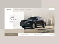 Hyundai Homepage Desktop - Concept 01