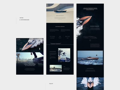 Lexus - Full Page scroll interaction webdesign type grid ui layout website