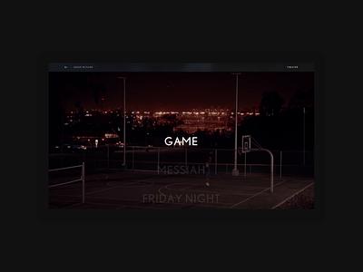 Lexus in Films - Theater scroll interaction webdesign type grid ui layout website