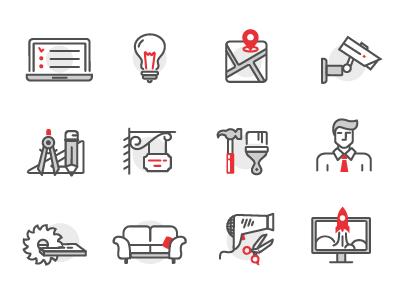 Icons for Development Company