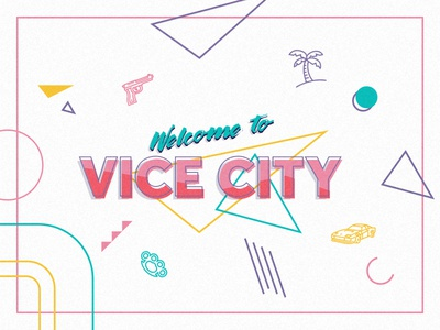 Welcome to Vice City - Splash Page