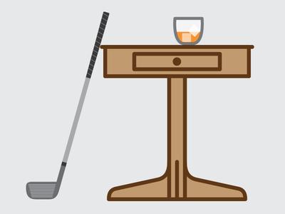 Golf & Scotch & Scotch & Golf