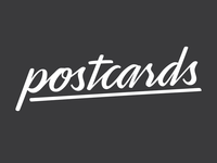 WIP: Postcards Identity, Option 2