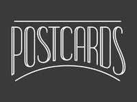 WIP: Postcards Identity, Option 3