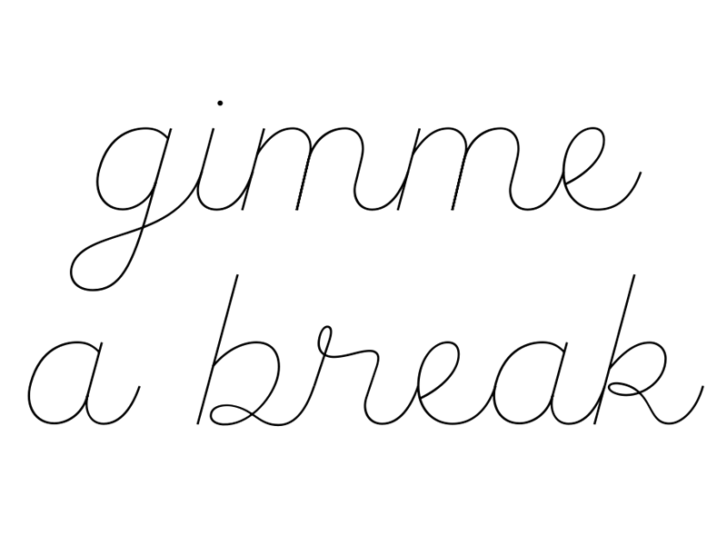 Kit Kat, anyone? palmer script type design jokesjokesjokes