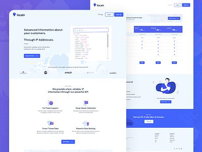 Design and Development for Locatr ui development illustration ux webflow website development design branding website design website