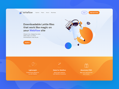 Lottieflow website design lottieflow webflow website design website logo design branding