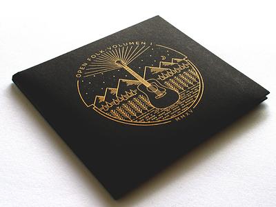 Open Folk Album art music folk album cover record album