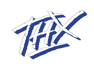 Thanks customtype type handdrawn brushlettering lettering