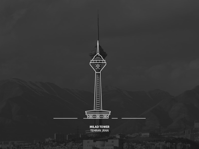 milad tower by danial sabounchi