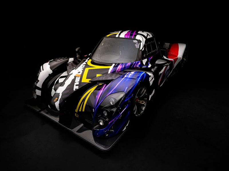 CCC Radical RXC Wrap Design   Single Shots / Details motorsport livery