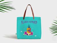 Black Leopard · Black Luck | BLACK x DESIGN -- Tote Bag