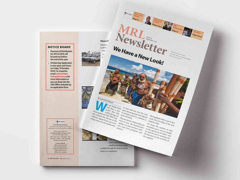 MRL Newsletter magazine newsletter