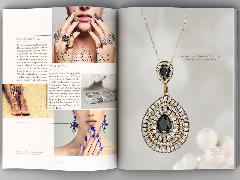 Catalog Design catalogue catalog interior book-layout design book graphic design indesign magazine jewelery brochure catalog