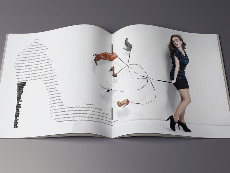 Magazine/ Brochure indesign catalog brochure design magazine design magazine cover magazine