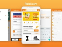 Responsive Website Ralali