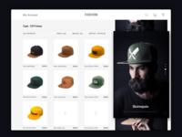 Caps   Ecommerce Website Design.