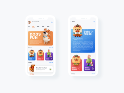 Pet App Ui