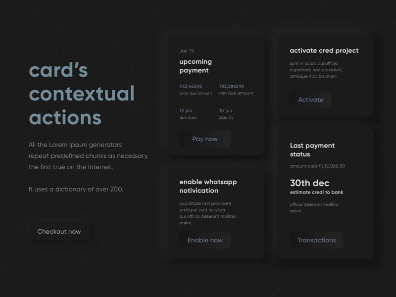 cred illustration clean web webdesign design 3d dark minimal uxdesign uidesign app ui