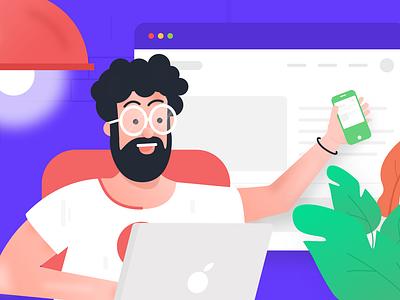Explore your life app ui-design-inspiration vector clean appdesign uidesign design ui minimal illustration
