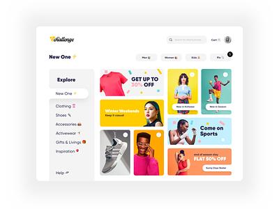 Challenge shopping websites. clean cart shopping shop minimal webdesign website appdesign ux app design ui