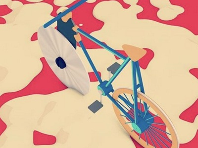 Pizza Cutter Bicycle dreamy asbtract pizza cutter pizza