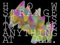 How Strange...