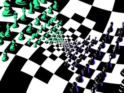 Dali Chessboard