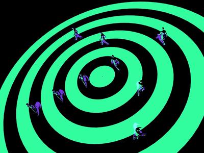 Circular Walkers