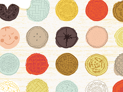 Pies for a Purpose illustration children food
