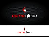 ComeQlean logo design