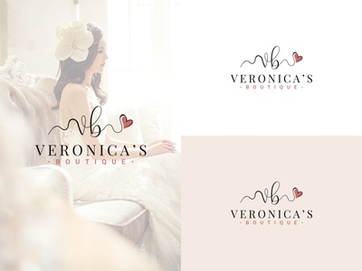 Wedding dresses logo design