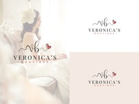 Wedding dresses logo design