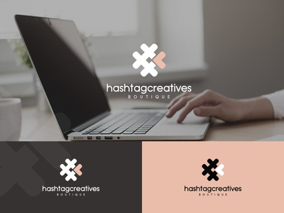 Digital agency logo design