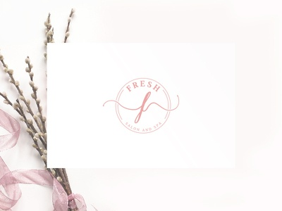 Logo design for beauty salon