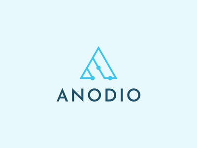 Logo design for tech brand