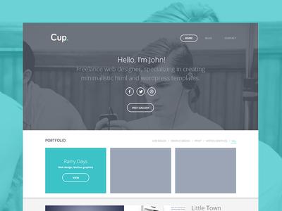 Cup Wordpress Theme
