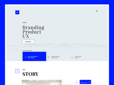 Uncut - Template Design creative market theme wordpress