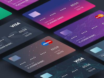 Judopay Cards polygon design card debit credit