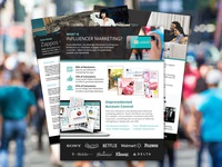 One Pager & Case Studies