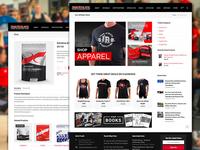 eCommerce Design for Iron Athlete Clinics