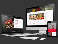 Nutrition Website Design